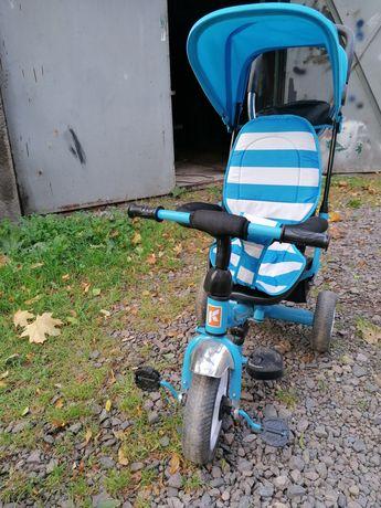Rower 3-kolowy pchany