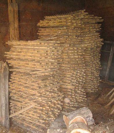 Grabie drewniane - około 1450 sztuk