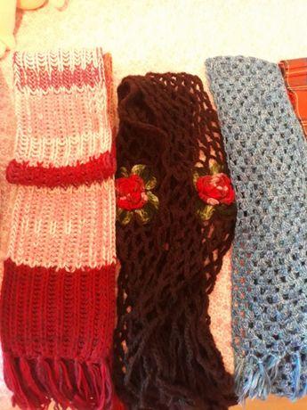Lote de cachecois lã