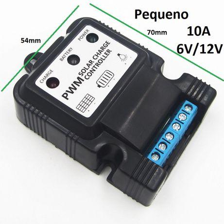 Controlador de Carga Solar 12V/24V 30A, 20A e 10A