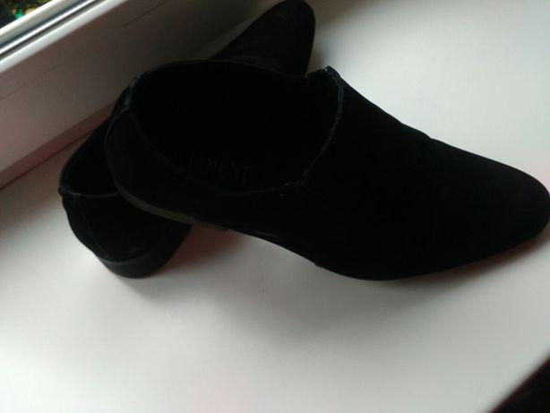 Туфли замшевые под замшу классические