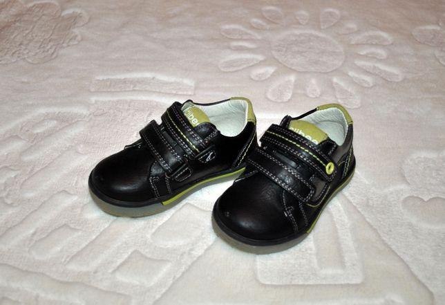 Туфли кроссовки Clibee на мальчика, черные зеленые