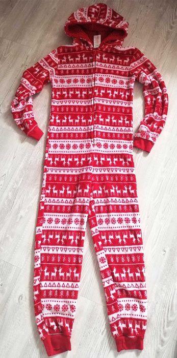 Pajac do spania piżama cieplutki rozmiar 12-13 lat Gardeja - image 1