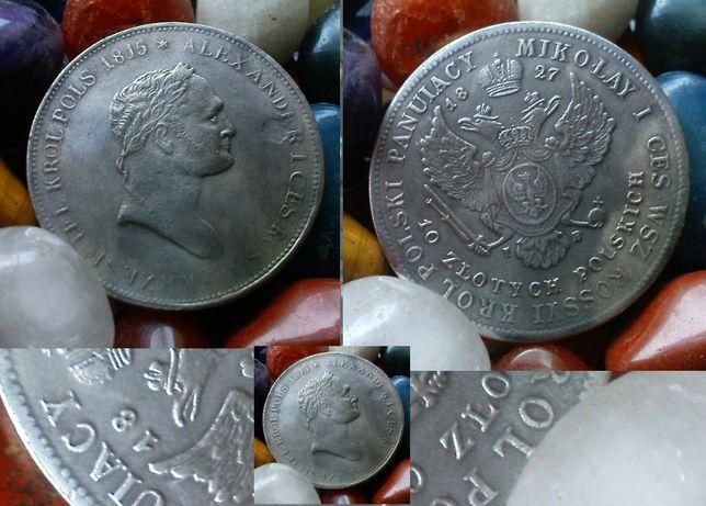 Królestwo Polskie 10 Złotych Polskich 1827 SW Mikołaj I kopia