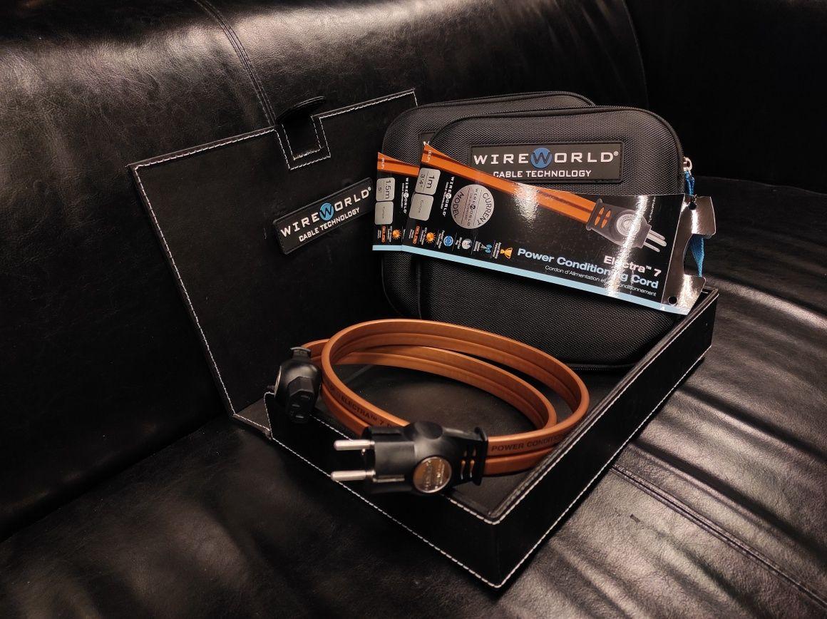 Promka! WireWorld Electra kabel przewód zasilający  Trans Audio Hi-Fi