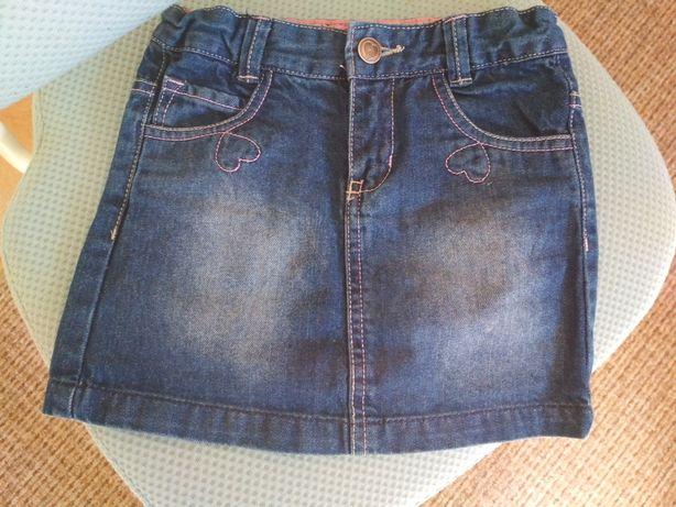 Spódniczka jeansowa Smyk 110
