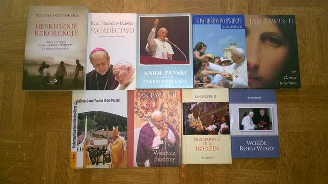 Książki o Papieżu Jan Paweł II pilne