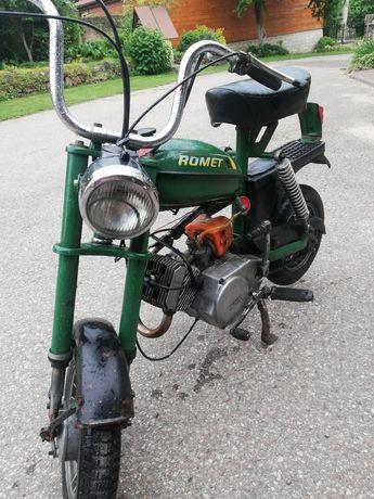 Rama, silnik, skrzynia biegów motorynka romet pony