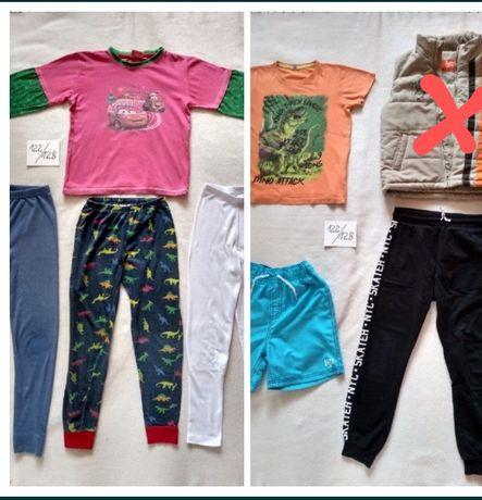 Ubrania 122/128 chłopięce