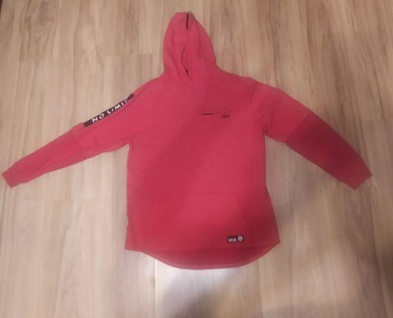 Bluza z kapturem czerwona Reserved