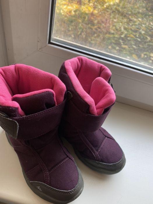 Зимние сапоги, ботинки, термо для девочки Запорожье - изображение 1