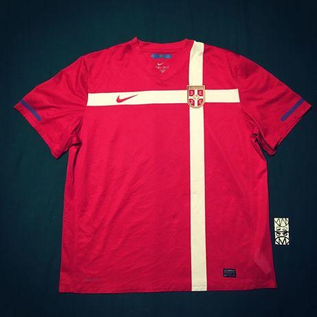 Футболка Футбольная Форма Сборной Сербии Nike Dri Fit Xxl Оригинал