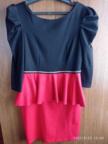 Женское платье 48р в хорошем состоянии