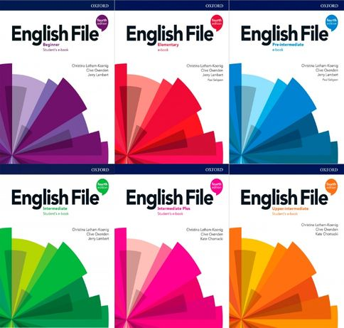 English File 4th Beginner,Elementary, Pre,Intermediate,Upper,Plus PDF