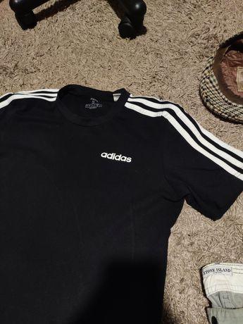 футболка Adidas чёрная
