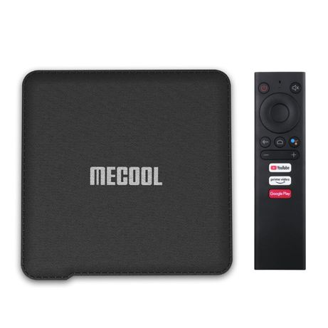 MECOOL KM1 Voice 4GB/32GB DDR(S905X3)Android TV 9.0 Голос.управ/GT/KM3