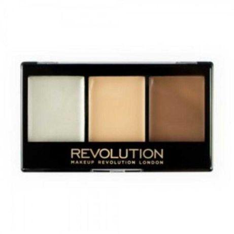 Палетка для контуринга makeup revolution ultra cream contour kit