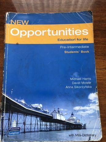 Книжка англійської New Opportunities