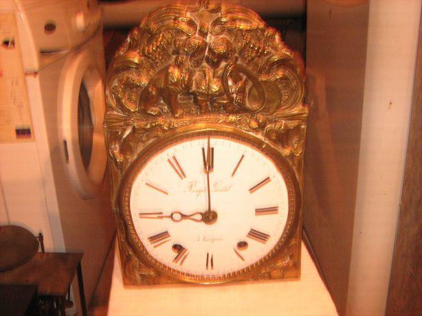 Zegar comtoise z wychwytem szpidlowym