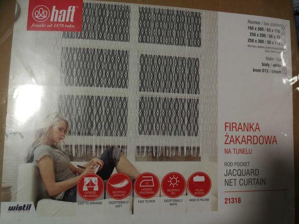 Firanka żakardowa na tunelu - Nowa