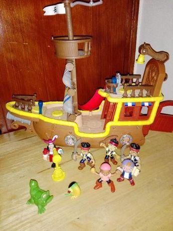 Bucky, Jake e os piratas