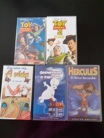 Cassetes de Vídeo desenhos animados