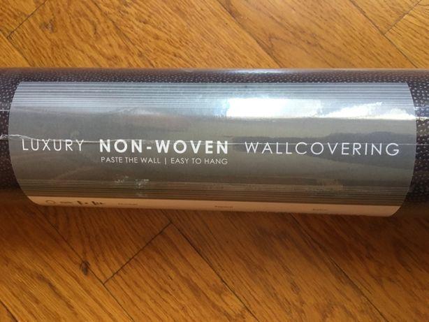 Обои luxury non-woven wallcovering Бельгия 1 шт. Темно сиреневые