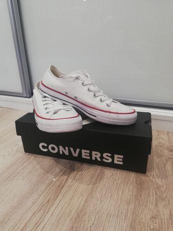 Converse Białe Damskie