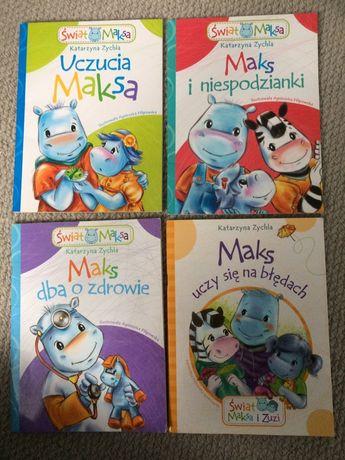 Świat Maksa- książeczki