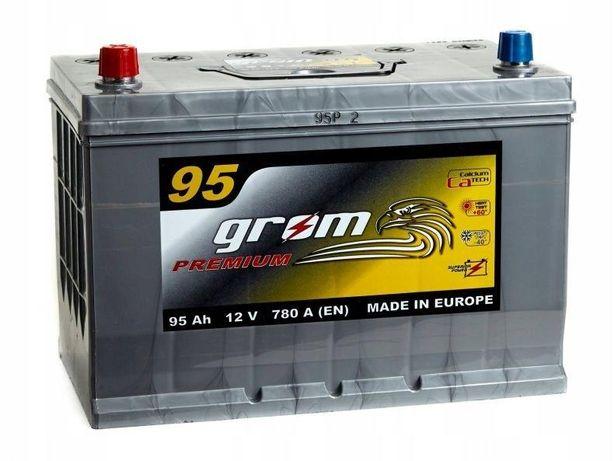 Akumulator Grom Premium 95Ah/780A Japan Lewy plus