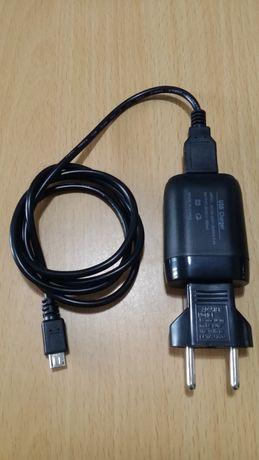 Carregador Samsung/Alcatel/Huawei USB com Cabo