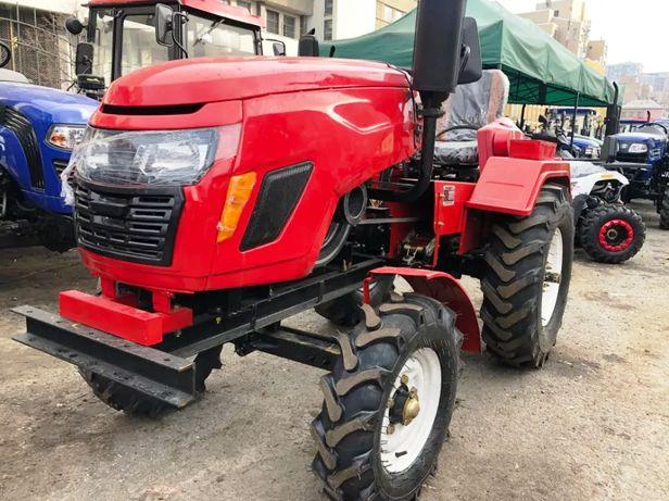 Трактор Булат Т25 з фрезою + плуг 2к Мототрактор с доставкою