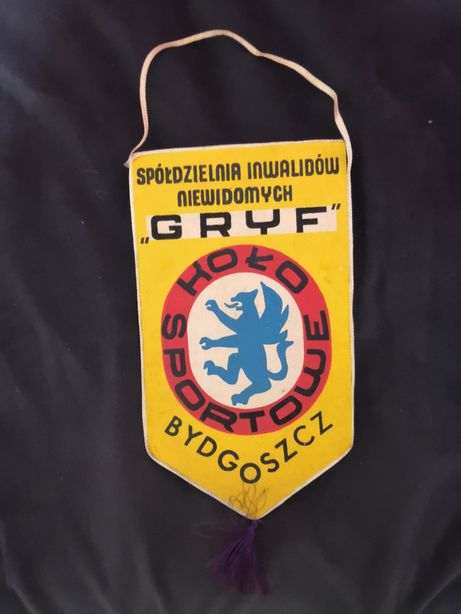 Proporczyk Koło Sportowe Gryf Bydgoszcz