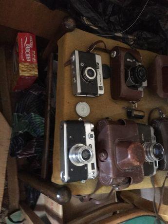 Фотоаппарат зорький-5 фэд-2  зенит-в