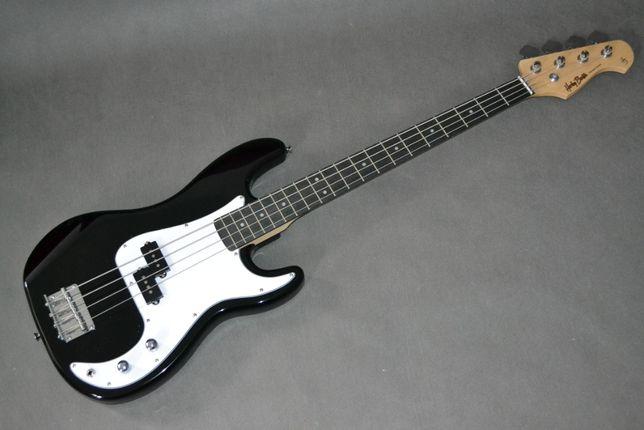 Harley Benton PB-20 BK czarna NOWA gitara basowa bas - setup gratis!