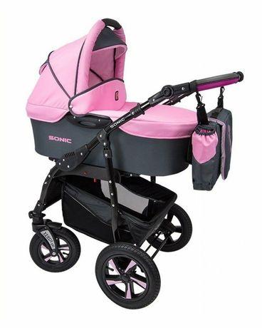 Детская коляска 3 в 1 Verdi Sonic 20 розовый