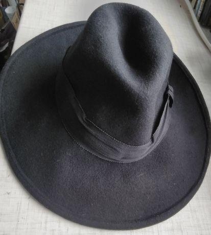 Шляпа еврейская кнейч (новая, Швейцария) хасиды иудаика иудаизм #2