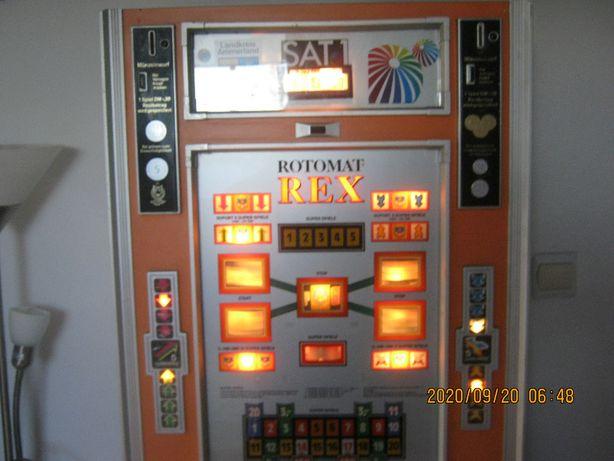 Automat do gry REX domowa skarbonka, rok produkcji 1977