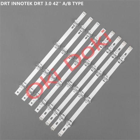 """Планки LED подсветки для телевизоров LG Innotek drt 3,0 42"""" LB LF ЛГ"""