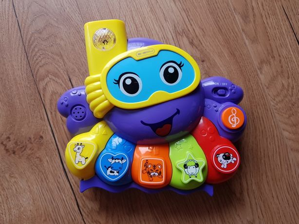 Zabawka grająca ośmiornica