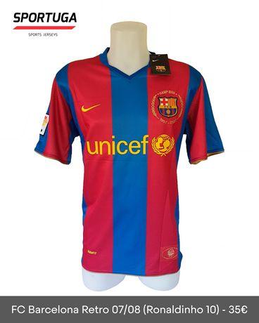 Equipamento do FC Barcelona de 2008 - Oficial!