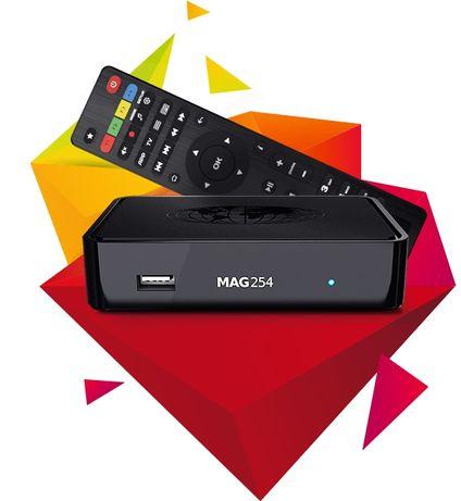 Tv box. Mag254.descodificador.