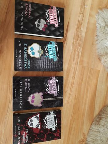 Książki Monster High