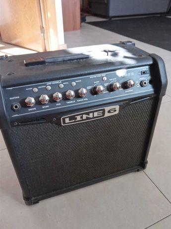 Amplificador para guitarra com pedaleira