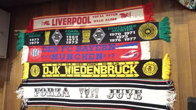Szaliki Liverpool Borussia M. Bayern Munchen Wiedenbruck Juventus