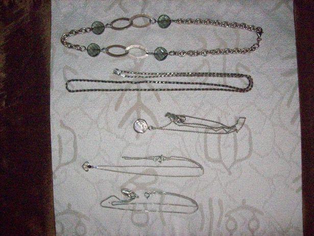 srebro 925 naszyjnik łańcuch