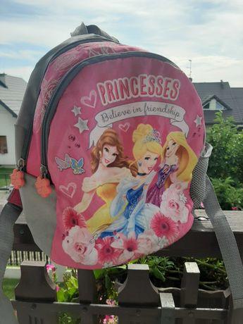 Plecaczek dla dziewczynki księżniczki, różowy