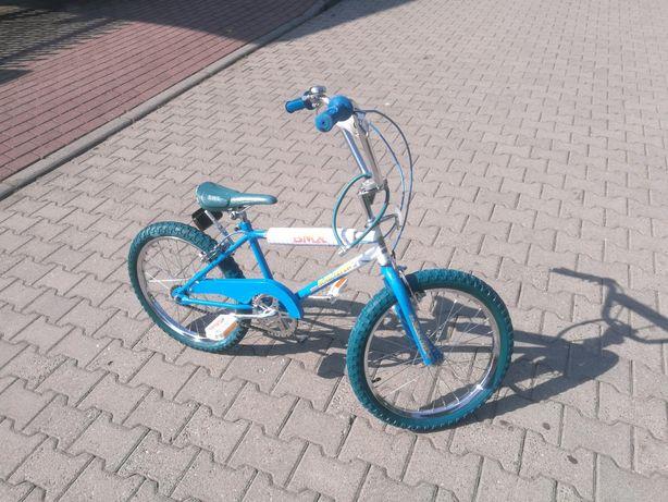 Rower BMX niebieski chłopiec dziecko dziewczynka