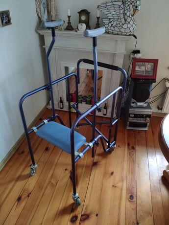 Balonik, pionizator, chodzik inwalidzki aluminiowy Mobilex