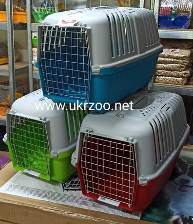 Пластиковая переноска бокс для кота собаки щенка животного 60х40х32